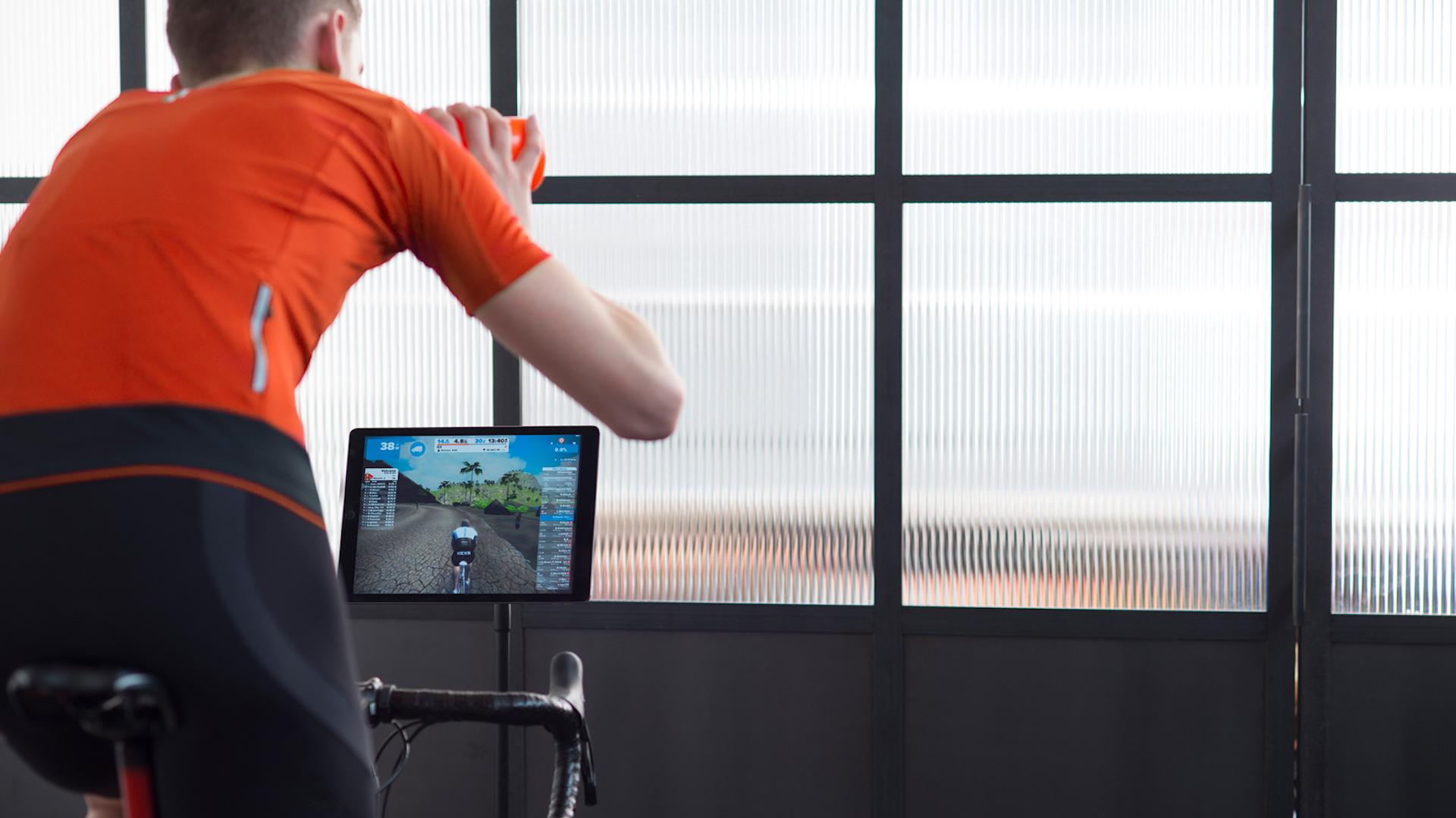 Cycling Setup iPad